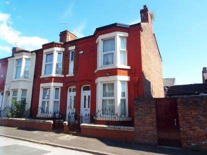 3 Bedrooms End Of Terrace House for sale in Redgrave Street, Liverpool, Merseyside, L7