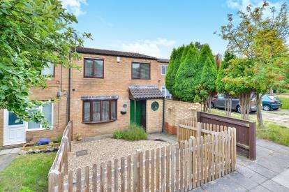 2 Bedrooms End Of Terrace House for sale in Percheron Place, Downs Barn, Milton Keynes