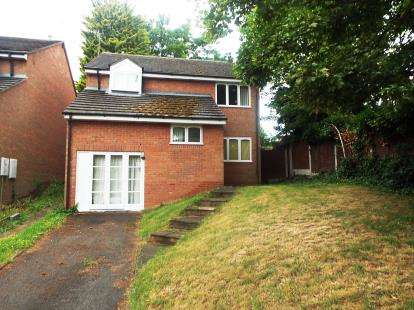 4 Bedrooms Detached House for sale in Camp Hill Avenue, Worcester, Worcestershire