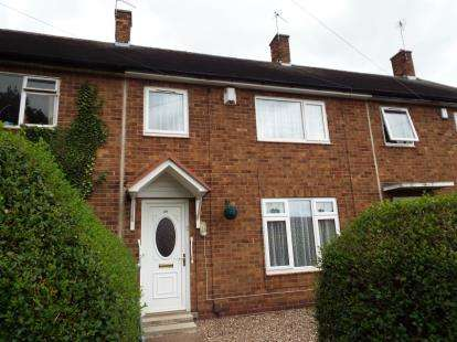 3 Bedrooms Terraced House for sale in Pedmore Valley, Bestwood Park, Nottinghamshire