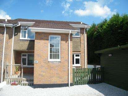 3 Bedrooms Semi Detached House for sale in Tremar Coombe, Liskeard, Cornwall