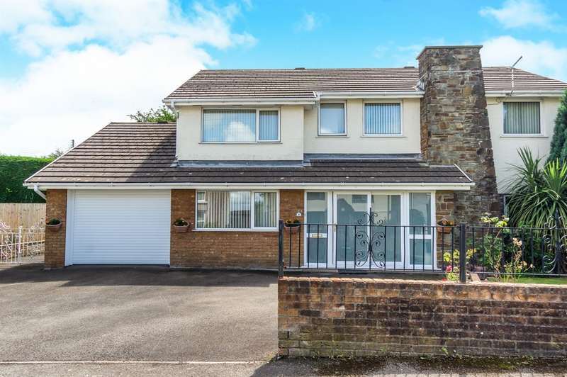 4 Bedrooms Detached House for sale in Woodlands Road, Loughor, SWANSEA
