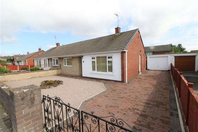 2 Bedrooms Bungalow for sale in Hopes Hill Drive, Carlisle, Cumbria, CA1 3LH