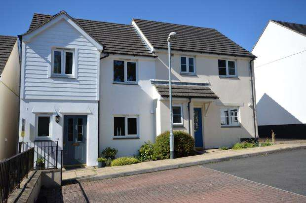 3 Bedrooms Semi Detached House for sale in Palace Gardens, Chudleigh, Newton Abbot, Devon