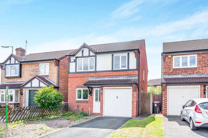 3 Bedrooms Detached House for sale in Quail Gate, Shawbirch, Telford, TF1
