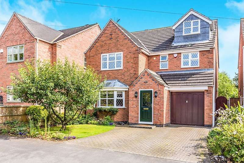 5 Bedrooms Detached House for sale in Boyslade Road East, Burbage, Hinckley, LE10