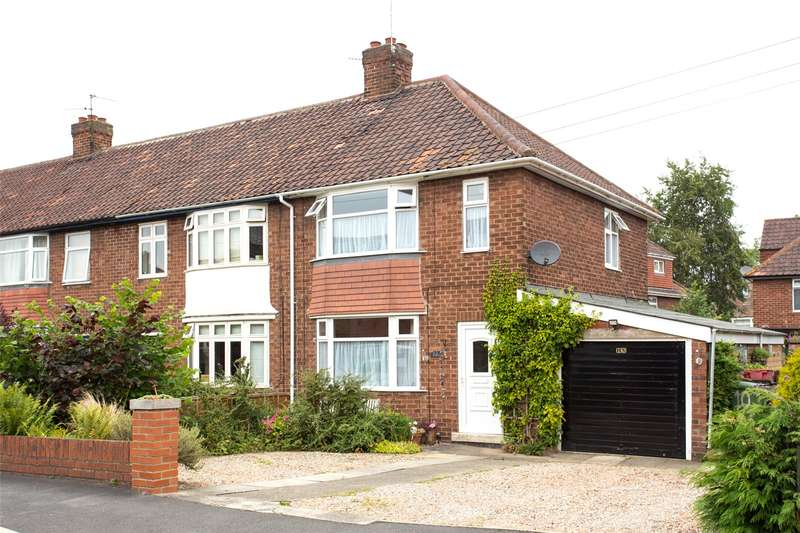 3 Bedrooms End Of Terrace House for sale in Clive Grove, York, YO24