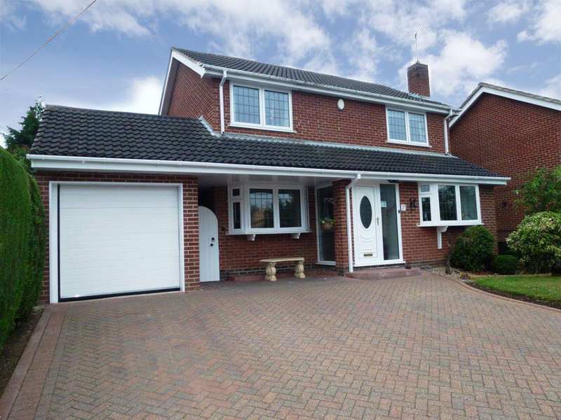 4 Bedrooms Detached House for sale in Walton Hill, Castle Donington