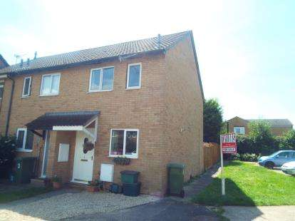 2 Bedrooms End Of Terrace House for sale in Somergate Road, Cheltenham, Gloucestershire