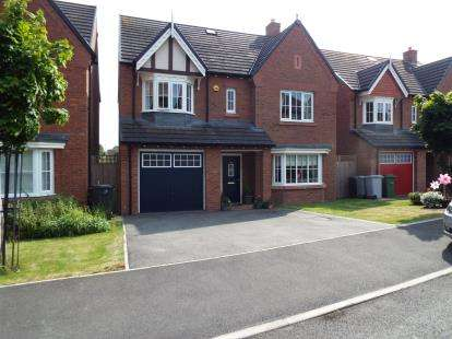 5 Bedrooms Detached House for sale in Hastings Road, Nantwich, Cheshire