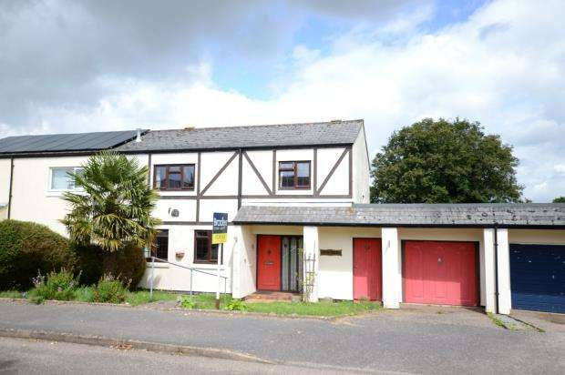 4 Bedrooms Semi Detached House for sale in Moorland Avenue, Denbury, Newton Abbot, Devon