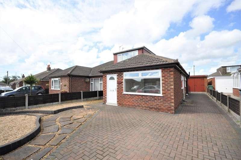 4 Bedrooms Semi Detached Bungalow for sale in Rydal Avenue, Freckleton, Preston, Lancashire, PR4 1DJ