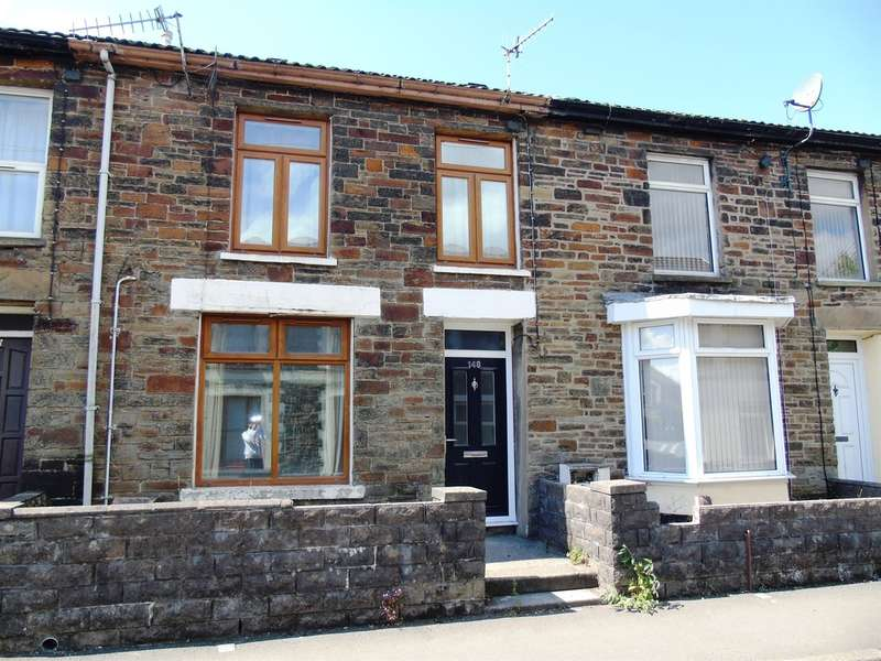 3 Bedrooms Terraced House for sale in Wood Road, Pontypridd