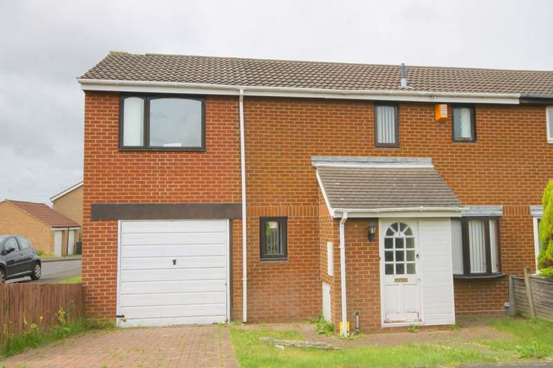 3 Bedrooms Semi Detached House for sale in Hensby Court, Meadow Rise, Newcastle Upon Tyne, NE5