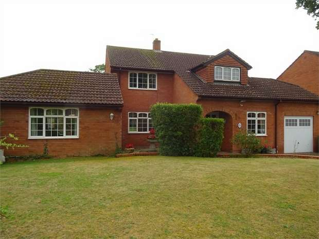 4 Bedrooms Detached House for sale in Wembdon Rise, Wembdon, Bridgwater, Somerset
