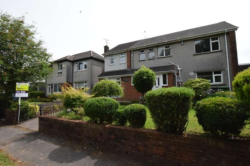 4 Bedrooms Detached House for sale in Heol Briwnant , Rhiwbina, Cardiff. CF14 6QG