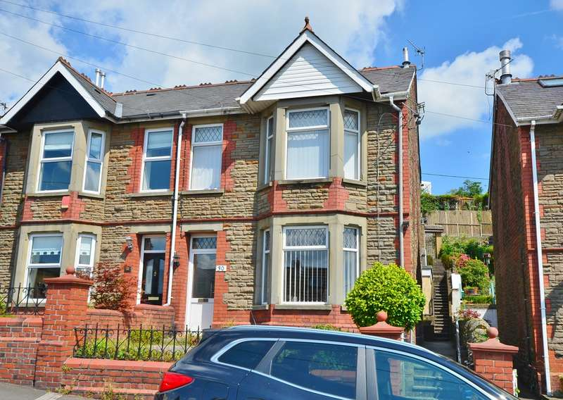 3 Bedrooms Semi Detached House for sale in Tydfil Road, Bedwas, Caerphilly, CF83