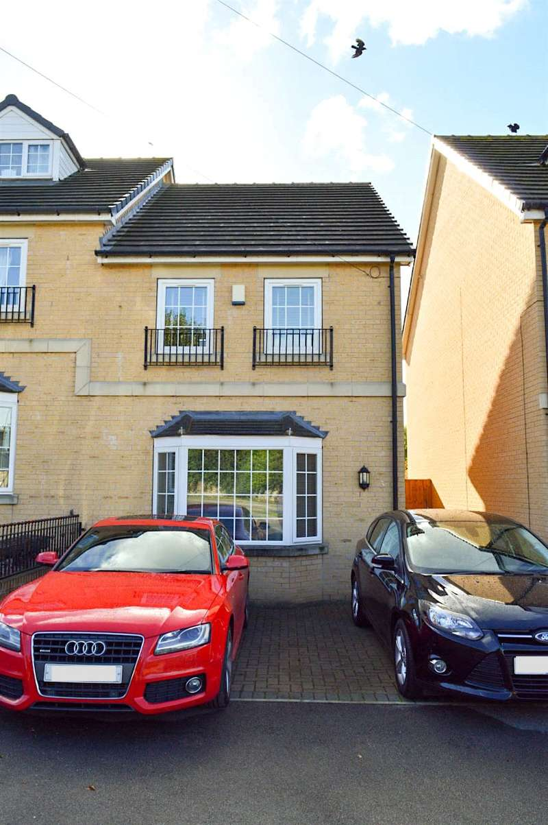 3 Bedrooms Semi Detached House for sale in Oakhill Court, Barnsley, South Yorkshire, S71