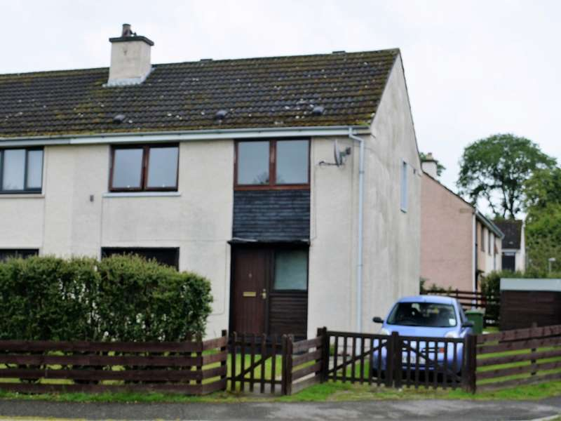 3 Bedrooms Semi Detached House for sale in 9 Woodlands Drive, Milton, Invergordon, IV18 0NH