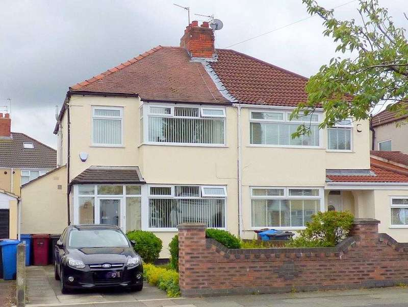 3 Bedrooms Semi Detached House for sale in Campbell Drive, Broadgreen, Liverpool