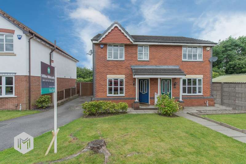 3 Bedrooms Semi Detached House for sale in Wainscot Close, Tyldesley, Manchester, M29