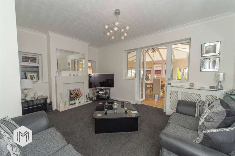 3 Bedrooms Semi Detached House for sale in Sixth Avenue, Bury, BL9