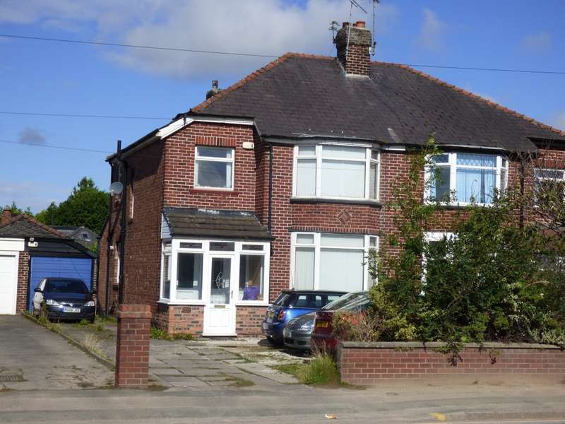3 Bedrooms Semi Detached House for sale in Macclesfield Road, Hazel Grove, Stockport