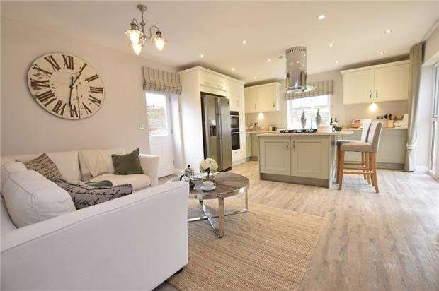 6 Bedrooms Detached House for sale in The Marlborough, Churchill Gardens, Broad Lane, Yate, BRISTOL, BS37 7LA