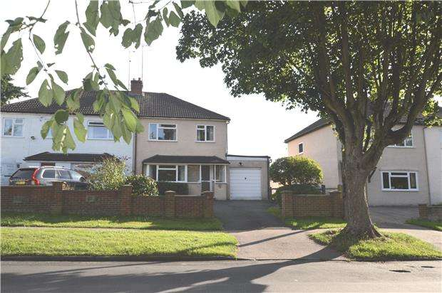 3 Bedrooms Semi Detached House for sale in Hillingdon Avenue, SEVENOAKS, Kent, TN13 3QT