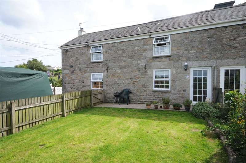 3 Bedrooms Semi Detached House for sale in Chapel Hill, Ponsanooth, Truro