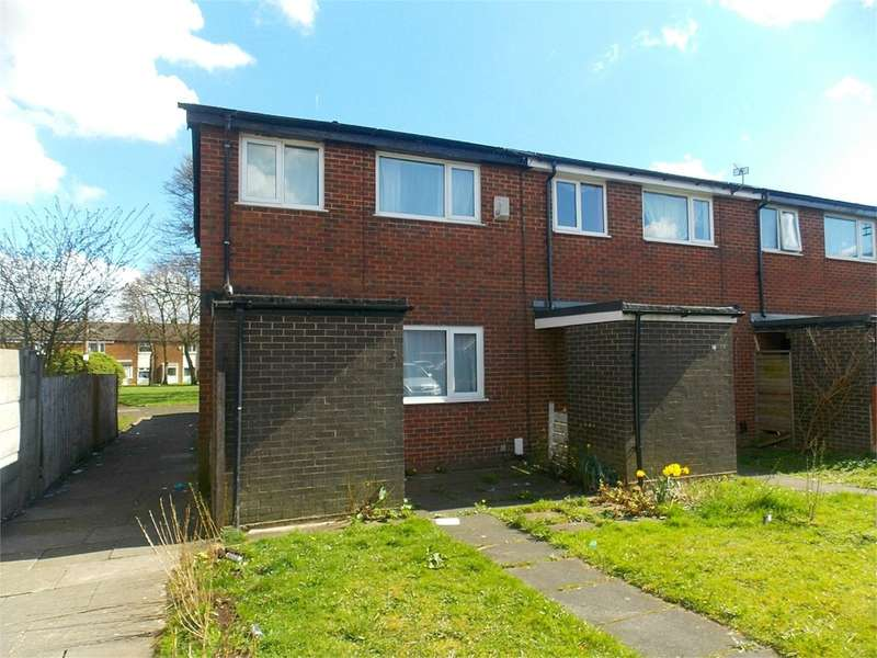 3 Bedrooms End Of Terrace House for sale in Evesham Walk, Deane, Bolton, BL3