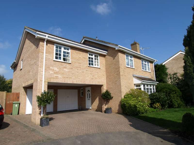 5 Bedrooms Detached House for sale in Huxley Close, Newport Pagnell, Buckinghamshire