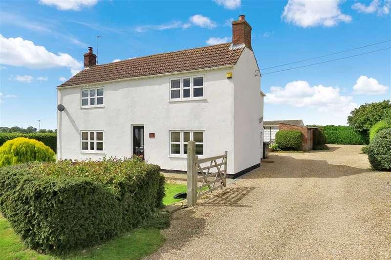 3 Bedrooms Detached House for sale in Bridge Farm House, Kyme Road, Heckington Fen