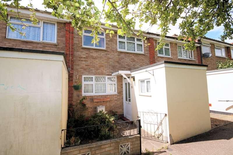 2 Bedrooms Terraced House for sale in Delamere Walk, Goldington, Bedford, MK41