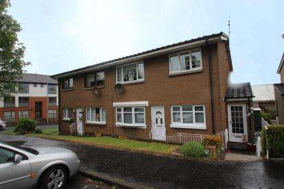 2 Bedrooms Flat for sale in Gateside Crescent, Airdrie, North Lanarkshire
