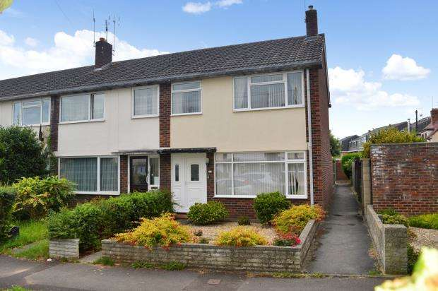 3 Bedrooms End Of Terrace House for sale in Winston Close, Taunton, Somerset