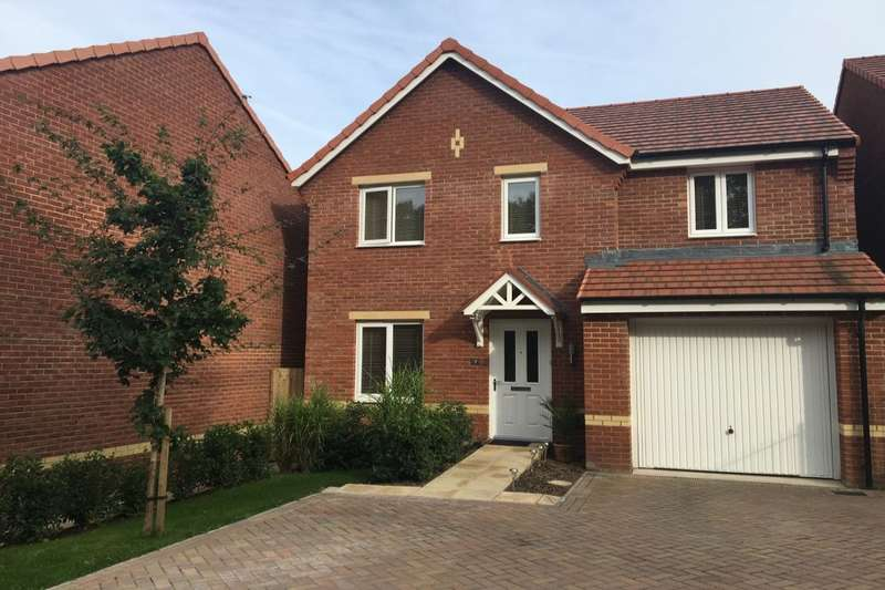 4 Bedrooms Detached House for sale in Nettle Close, Newton Abbot, TQ12