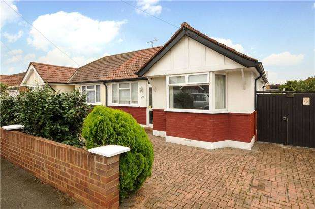 2 Bedrooms Semi Detached Bungalow for sale in Kingsway, Staines-upon-Thames, Surrey