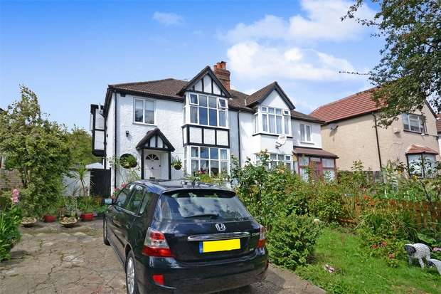 4 Bedrooms Semi Detached House for sale in Watford Road, WEMBLEY, Middlesex