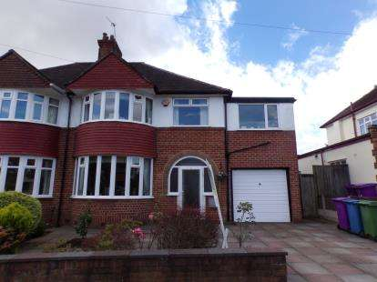 4 Bedrooms Semi Detached House for sale in Childwall Park Avenue, Childwall, Liverpool, Merseyside, L16
