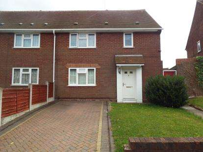 1 Bedroom Maisonette Flat for sale in Snape Road, Ashmore Park, Wolverhampton, West Midlands