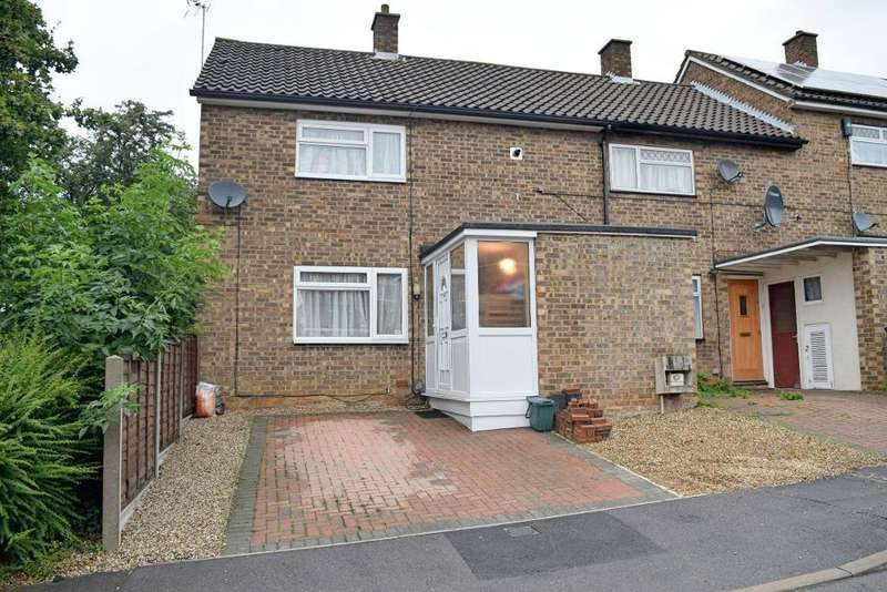2 Bedrooms End Of Terrace House for sale in Fold Croft, Harlow, CM20 1SR