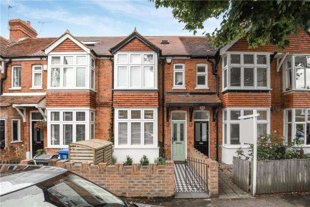 4 Bedrooms Terraced House for sale in Elm Road, Windsor, Berkshire