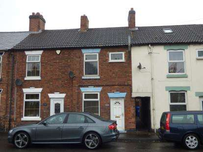 2 Bedrooms Terraced House for sale in Stanton Road, Burton-On-Trent, Staffordshire
