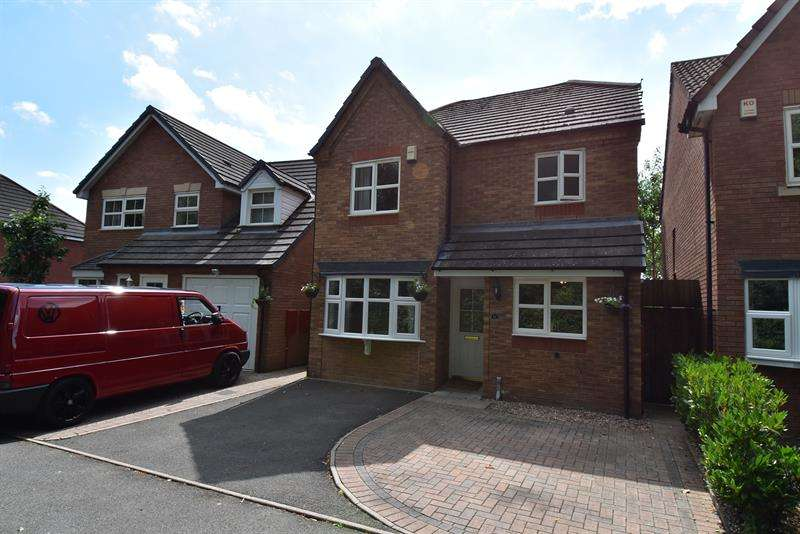 3 Bedrooms Detached House for sale in Richardson Close, Wychbold, Droitwich