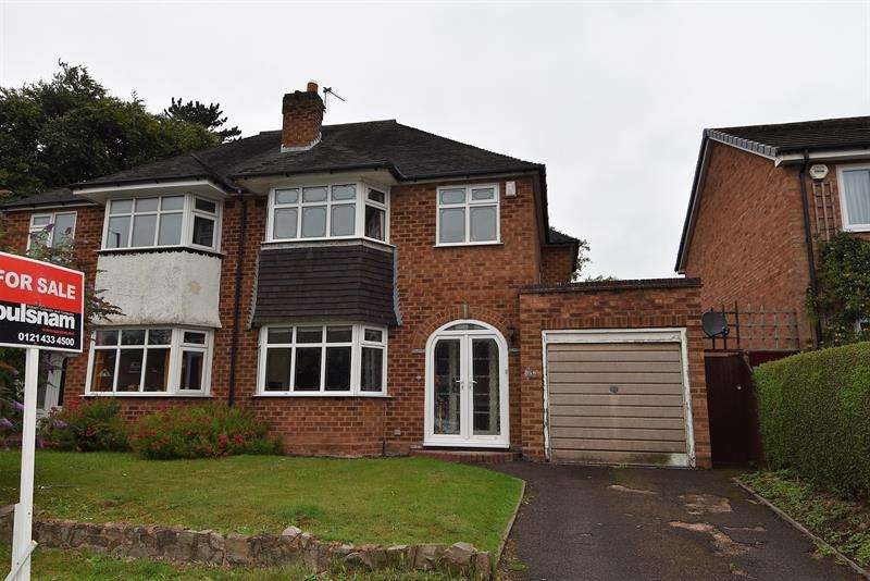 3 Bedrooms Semi Detached House for sale in Middleton Hall Road, Kings Norton, Birmingham