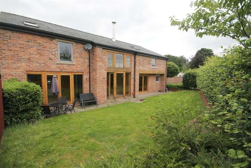 4 Bedrooms Barn Conversion Character Property for sale in Harefield Drive, Wilmslow, SK9 1NJ