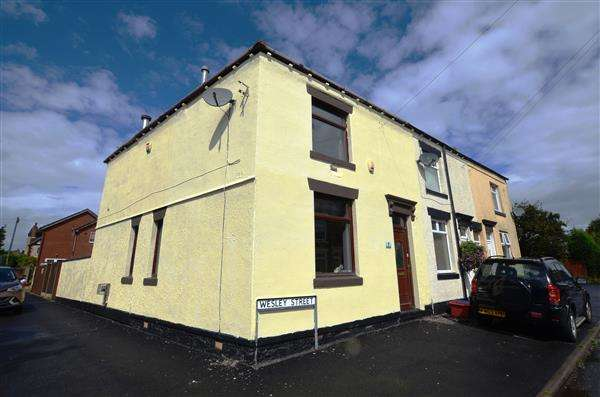 2 Bedrooms End Of Terrace House for sale in Wesley Street, Wood Lane, Stoke-On-Trent