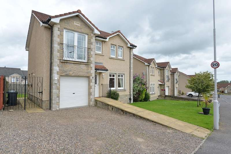 4 Bedrooms Detached House for sale in Seafar Drive, Kelty, Fife, KY4 0JX