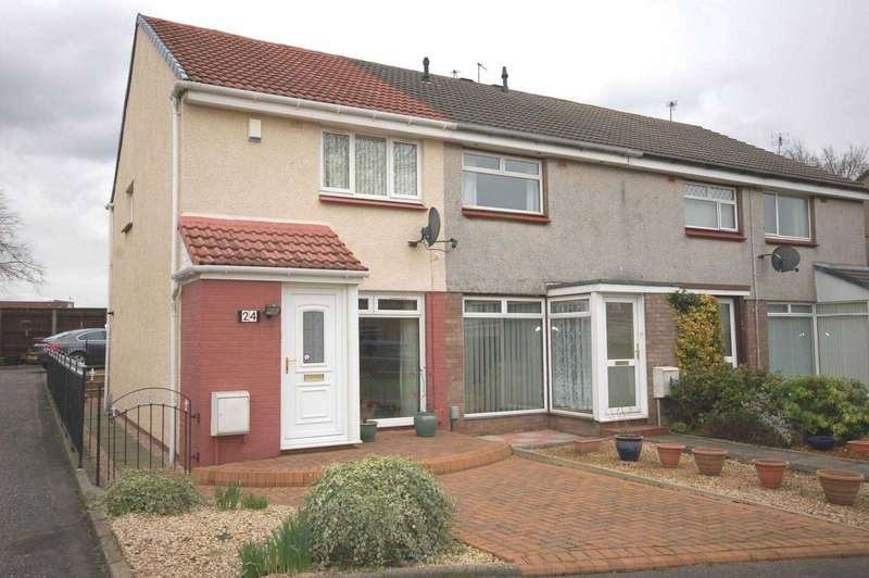 2 Bedrooms End Of Terrace House for sale in Findhorn Avenue, Deanpark,Renfrew PA4